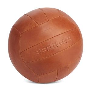 Ledersitzball in der Farbe Natur.