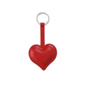 Herz Schlüsselanhänger Ravel in rot
