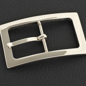 Doppelsteg Gürtelschnallen 101-N1 - 30 mm Nickel