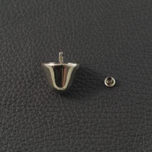 Taschenfuss 178 Nickel – 16 mm