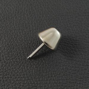 Taschenfuss 196 Nickel – 15 mm