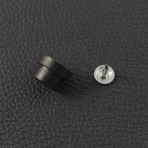 Taschenfuß Kunststoff Schwarz