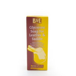 Glycerine Lederseife von Bense & Eicke für die Reinigung aller Glattlederarten